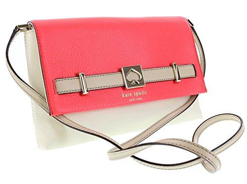 Crossbody Houston Spade Loula Clutch Kate in Street Hotrose Bag 684 Leather Pebbled Shoulder YdRqnOx