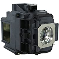QueenYii Compatible for EPSON EB-G6070W EB-G6070WNL PowerLite Pro G6050W EB-G6050W Replacement Projector Lamp with bulb inside
