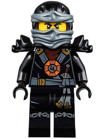 LEGO Ninjago Deepstone Minifigure - Cole Airgitzu with (Lego Ninjago Cole)