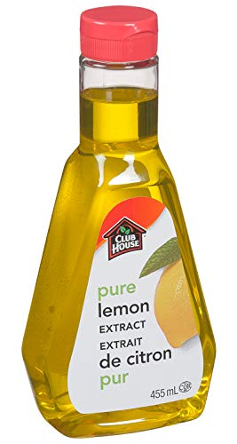 Club House, Quality Baking & Flavouring Extracts, Pure Lemon, 455ml