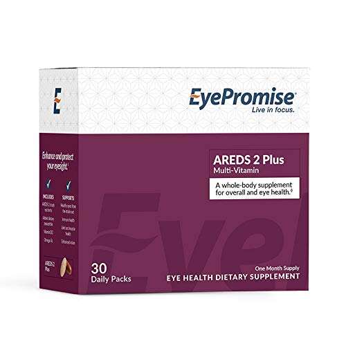 EyePromise AREDS 2 Plus with a Multi-Vitamin - Comprehensive Macular Health Eye Vitamin with Added Zeaxanthin, Lutein, Omega-3s, and Vitamin D