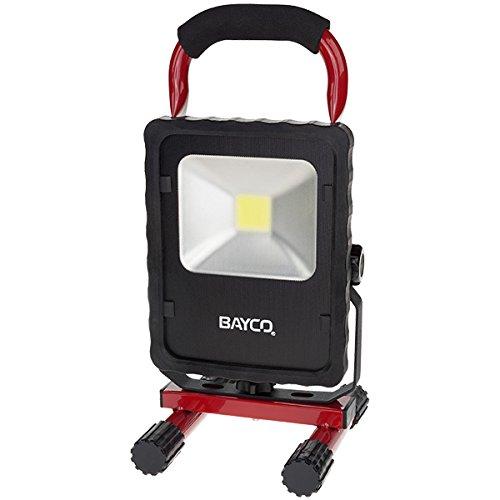 Bayco SL-1512 2200 lm LED Single Fixture Work Light, Red/Black