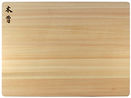 Kiso Hinoki Extra Large Cutting Board 24 x 18 x 1.5 Inch - Authentic Japanese Cypress by CuttingBoard