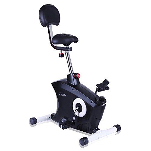 SereneLife Exercise Bike - Stationary Bicycle Pedal Cycli...