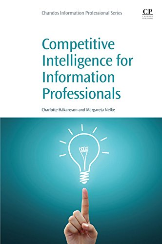 Download Competitive Intelligence for Information Professionals Pdf
