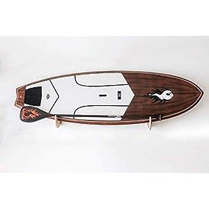 Premium Rack realizzati a mano per SUP e Windsurf - Modello Shark Tooth con porta pagaia 2 spesavip