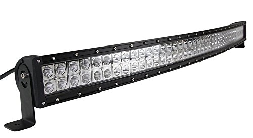 43inch 240w curved combo cree led light