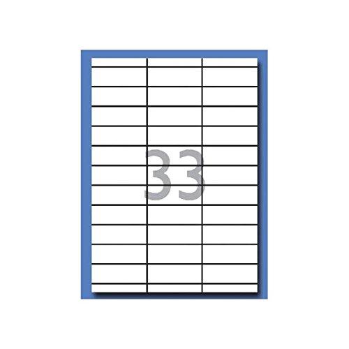 Apli DECAdry Pochette de 990 Etiquettes multi-usage 70 x 25 mm Blanc