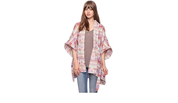 e340440b685f44 Amazon.com : Forever 21 Aztec/Tribal Poncho Shawl Size M/L (Brand New with  Tags) : Other Products : Everything Else