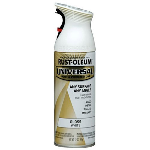 Rust-Oleum 245199 Spray Paint, 12-Ounce, Gloss White