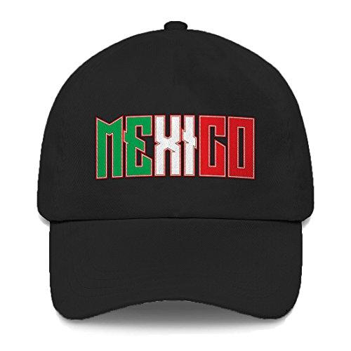 Tcombo Mexico Dad Hat (Black)