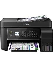 Epson EcoTank ET-L5190 4-in-1 multifunctionele inkt (kopieerapparaat, scanner, printer, fax, DIN A4, ADF, WiFi, Ethernet, Display, USB 2.0), grote inkttank, hoog bereik, lage pagina-kosten