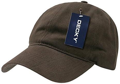 Decky Low Crown Brushed Cotton - Gorra para Hombre, Color Piedra, Talla n/a: Amazon.es: Deportes y aire libre