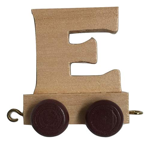 3 Letters e-shop2door Personalised Wooden Alphabet Letter Train A-Z Name Set Toy Learning