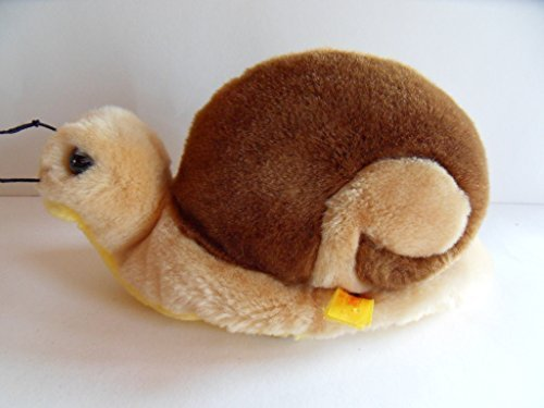 Steiff snail, Cosy snail, w. button/flag, made in Germany 912