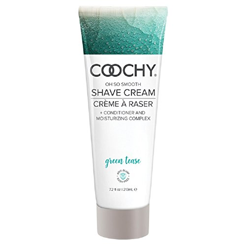 Coochy Shave Cream Green Tease - 7.2 oz by Coochy