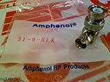 AMPHENOL RF 31-9-RFX 50OHM; CONVERT FROM COAX TYPE:BNC; CONVERT FROM GENDER:JACK; CONVERT TO COAX TYPE:BNC; CONVERT TO GENDER:PLUG; ADAPTER BODY STYLE:RIGHT ANGLE ADAPTER; IMPEDANCE:50OHM; CONNECTOR T