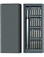 Tingz Screwdriver set, 25 i 1 finmekaniker skruvmejselset mini skruvmejselset finmekaniker verktygssats skruvmejsel set torx skruvmejsel set elektriker verktygslåda för PC