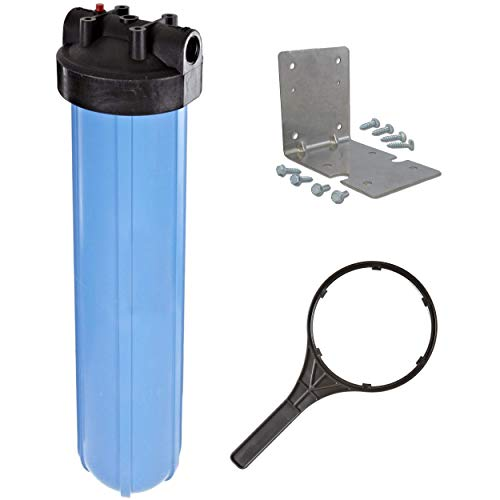 "Pentek 1"" Threaded 20"" Genuine Big Blue Filter Housing Kit 