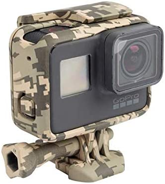 Protective Housing Case Outdoor Camouflage Standard Border Frame for GoPro Hero 5 6 7