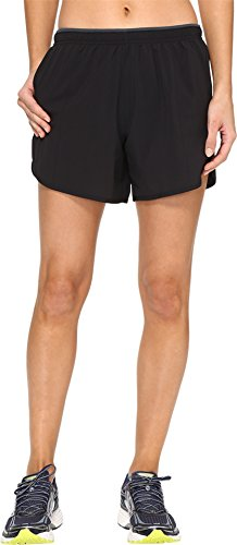 "Brooks Women's Go-to 5"" Shorts Black Small 5"