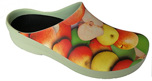 vert PU celadon en Picture pantoufle pomme Clog'' vert Pommes ''Jolly Céladon Alpro de xqOX14nn