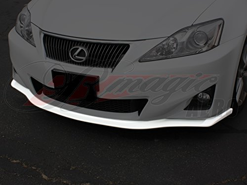 BMagic LIS11PUDLSFAD; Poly Urethane Chin Spoiler For Lexus IS250/350 - Bumper Racing Front Ait
