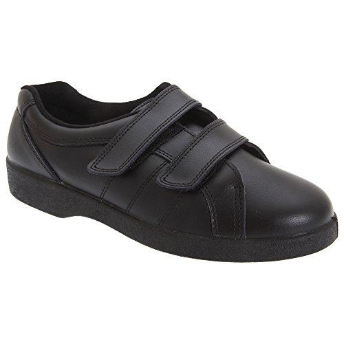 Boulevard - Zapatos con tiras adhesivas modelo Napoli Fuller para mujer Negro