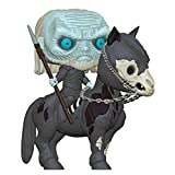 Funko Collectible Figure Pop! Rides, Game of Thrones, White Walker On Horse