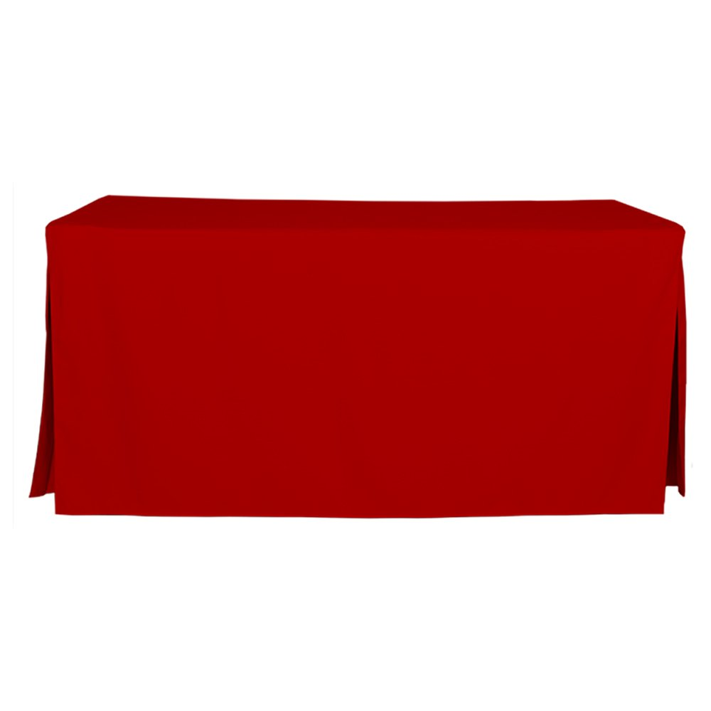 Amazon Com 6 Foot Tablecloth Fitted Folding Table Cover
