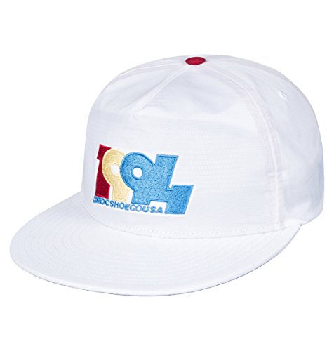 DC Shoes Mens Dc Shoes Graduate - Snapback Hat - Men - One Size - White Snow White One Size from DC