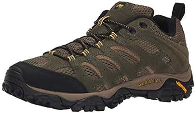 Merrell Men's Moab Ventilator Hiking Shoe, Olive, 7.5 M US