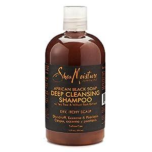 Shea Moisture African Black Soap Deep Cleansing Shampoo - 13 oz.
