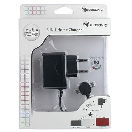 CARGADOR 3 EN 1 DS LITE/DSI/DSI XL: Amazon.es: Videojuegos