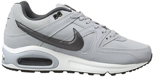 Running Uomo Max Command Grey Air Nike Leather Scarpe Grigio 012 qfUxxwXS