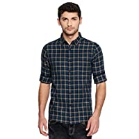 Dennis Lingo Men's Checkered Tealblue...