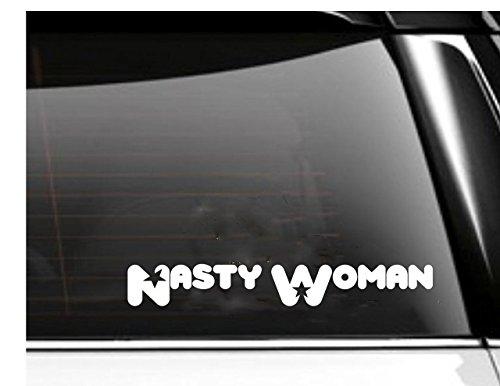 Nasty Woman Superhero Car Decal- Tumbler Decal