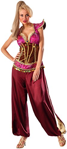 Harems Jewel Belly Dancer Costumes (Rubie's Costume Co Women's Desert Jewel Costume, Multi, Standard)
