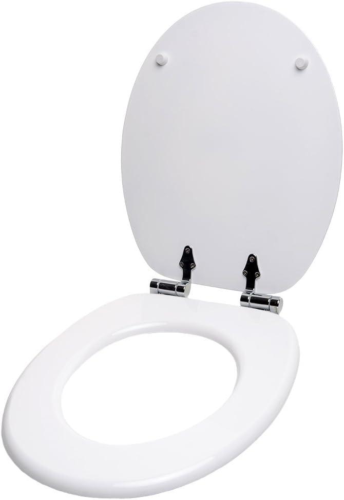 Finition de haute qualit/é 3D Fizz Abattant WC frein de chute soft close Fixation facile