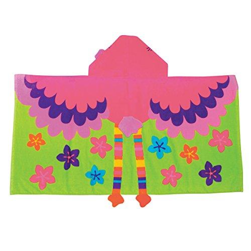 Stephen Joseph Hooded Towel, Flamingo ()
