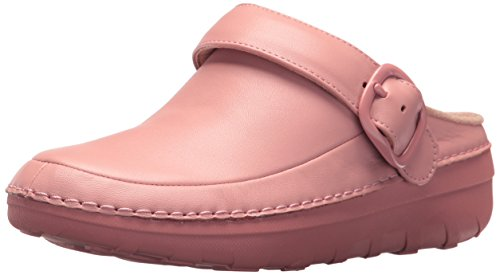 FitFlop Women's Gogh PRO Superlight Medical Professional Shoe, Dusky Pink, 6 M US