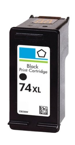 HouseOfToners HouseOfToners HP 74XL (CB336W) Black High Yield Ink Cartridge For Use in HP Deskjet Photosmart Printers (Alternative Replacement) (1 74XL Black)