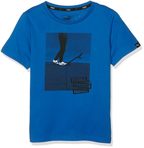 PUMA Kinder T-shirt SPORTS STYLE Tee, Royal, 152, 838782 33