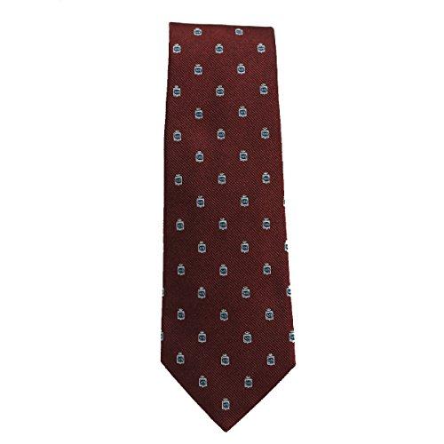 Gucci Silk Tie for Men Woven Cormorant Bordeaux Dark Red 375998 (Gucci Woven Tie)