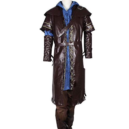 Adult Deluxe Suit Full Set for Thorin Costume Halloween (L)