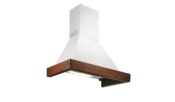 Falmec-Campana de ángulo Dora acabado blanco con estructura relieve 100 cm y potencia 450m3/h: Amazon.es: Hogar