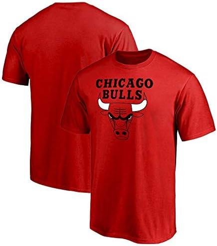 Jntm-Sports Mens Basketball Jersey Chicago Bulls Swingman Shirt Short Sleeves Apparel for Youth Sweatshirts-XXXL