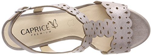 Caprice Women's 28312 Sling Back Sandals Pink (Rose Metallic 520) cheap wholesale price outlet cheap prices low shipping fee sale online CQgeXkR6D