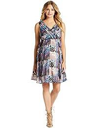 Jessica Simpson Floral Patchwork Maternity Dress