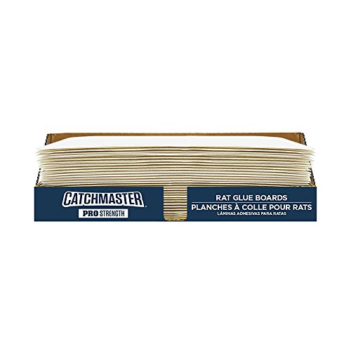 (Catchmaster 30R Bulk Packed Rat Size Glue Boards 30-Pack)